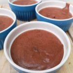 mousse au chocolat pois chiche