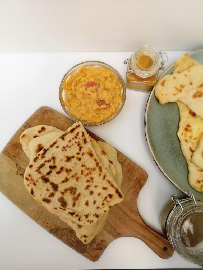 Recette de Cheese Naan maison
