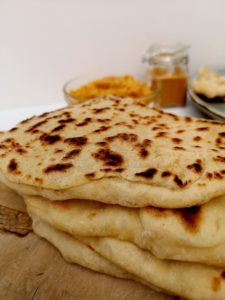 Pain indien cheese naan