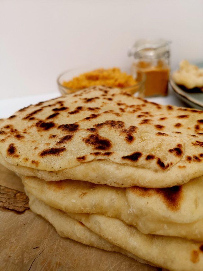 recette de cheese naan